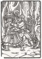 Death comes for the Robber - (after) Holbein the Younger, Hans