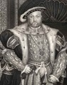 Portrait of King Henry VIII 1491-1547 2 - (after) Holbein the Younger, Hans