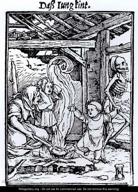 Death Taking a Child - (after) Holbein the Younger, Hans