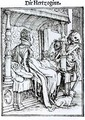 Death and the Lady - (after) Holbein the Younger, Hans