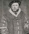 Henry VIII 1491-1547 - (after) Holbein the Younger, Hans