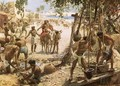 Israelites making bricks in Egypt - William Brassey Hole