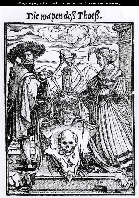 The Box of the Dead - (after) Holbein the Younger, Hans