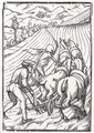 Death comes for the Farmer or Husbandman - (after) Holbein the Younger, Hans