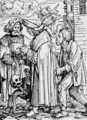 Death and the Councillor - (after) Holbein the Younger, Hans