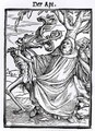 Death and the Abbot - (after) Holbein the Younger, Hans
