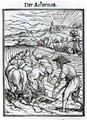 Death and the Ploughman - (after) Holbein the Younger, Hans