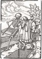 Death comes to the Old Man - (after) Holbein the Younger, Hans