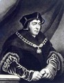 Sir Thomas More 1478-1535 - (after) Holbein the Younger, Hans