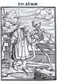 Death and the Old Man - (after) Holbein the Younger, Hans