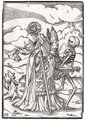 Death comes to the Bishop - (after) Holbein the Younger, Hans