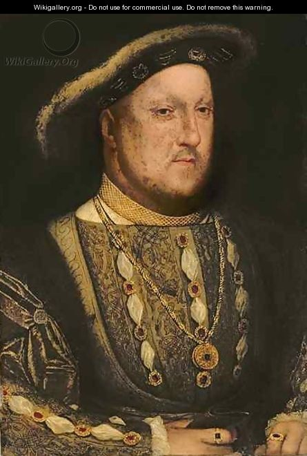Portrait of Henry VIII 1491-1547 - (after) Holbein the Younger, Hans