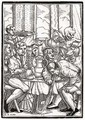 Death comes for the Drunkard - (after) Holbein the Younger, Hans