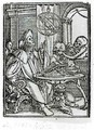 Death and the Astronomer - (after) Holbein the Younger, Hans