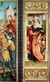 St Elizabeth of Hungary 1207-31 right hand panel from the Triptych of St Sebastian - Hans, The Elder Holbein