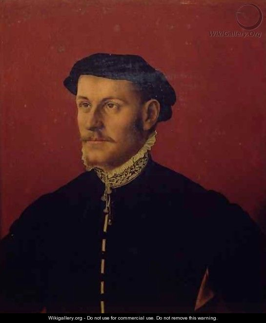 Portrait of a Man traditionally identified as Sir Thomas More 1478-1535 - (after) Holbein the Younger, Hans