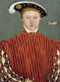 Portrait of Edward VI as Prince of Wales 1537-53 - (after) Holbein the Younger, Hans