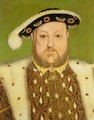 Portrait of Henry VIII 1491-1547 2 - (after) Holbein the Younger, Hans