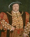 Portrait of Henry VIII - (after) Holbein the Younger, Hans