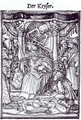 Death and the Emperor - (after) Holbein the Younger, Hans