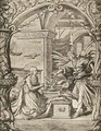 The Annunciation - (after) Holbein the Younger, Hans