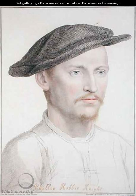 Philip Hobbie - (after) Holbein the Younger, Hans