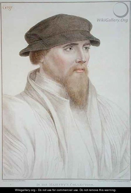 Portrait of John Gaye - (after) Holbein the Younger, Hans
