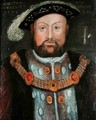 Henry VIII 1491-1547 2 - (after) Holbein the Younger, Hans