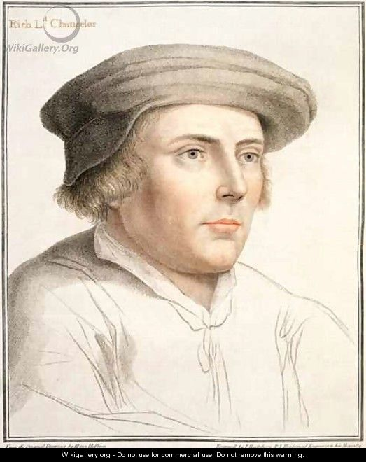 Richard Rich First Baron Rich - (after) Holbein the Younger, Hans