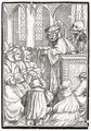 Death comes for the Preacher - (after) Holbein the Younger, Hans