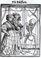 Death and the Noblewoman - (after) Holbein the Younger, Hans