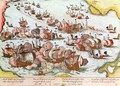 Naval Combat between the Beggars of the Sea and the Spanish in 1573 - Franz Hogenberg