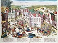 Massacre in Flanders during the Government of Fernando Alvarez de Toledo 1508-82 Duke of Alba - Franz Hogenberg
