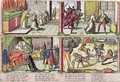 The Assassination of Henri III 1551-89 and the Execution of his Killer Jacques Clement 1564-89 - Franz Hogenberg