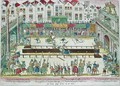 Tournament during which Henri II 1519-59 was injured by the Count of Montgomery and died ten days later - Franz Hogenberg