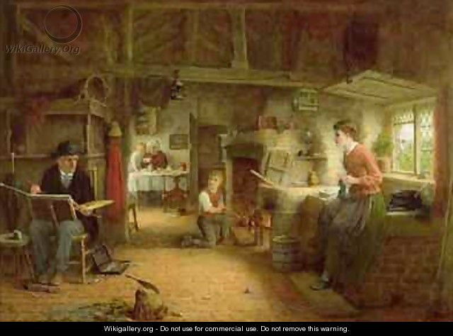 The Artists Visit - Frederick Daniel Hardy