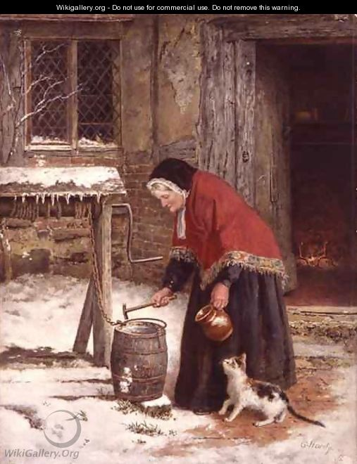 A Winters Morn - George Hardy