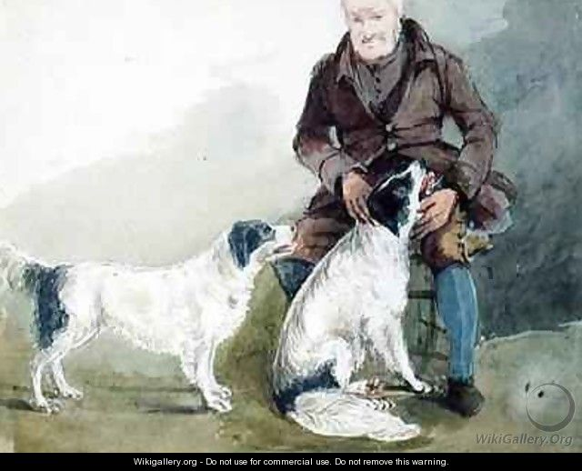 Major Gilpin and his dogs - John Harden