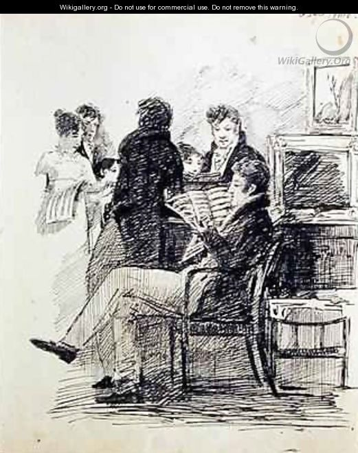 Reading an Musical Score - John Harden