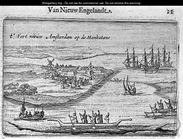 View of New Amsterdam - Joost Hartgers