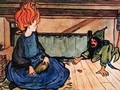 Kobold illustration for the tale Marigold Mary - Florence Harrison