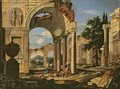 Landscape with Ruins - Johann Oswald Harms