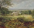 English landscape with a house - Heywood Hardy