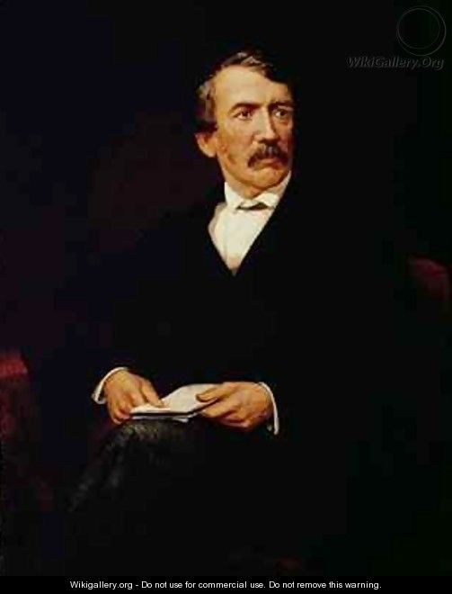 Portrait of Livingstone 1813-1873 - Frederick Havill
