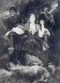 Mrs Siddons in the character of a Tragic Muse - Francis Haward