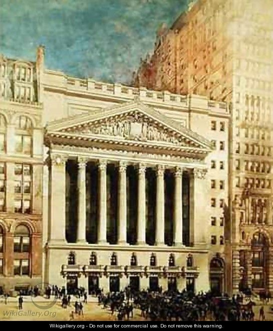 New York Stock Exchange - Hughson Hawley