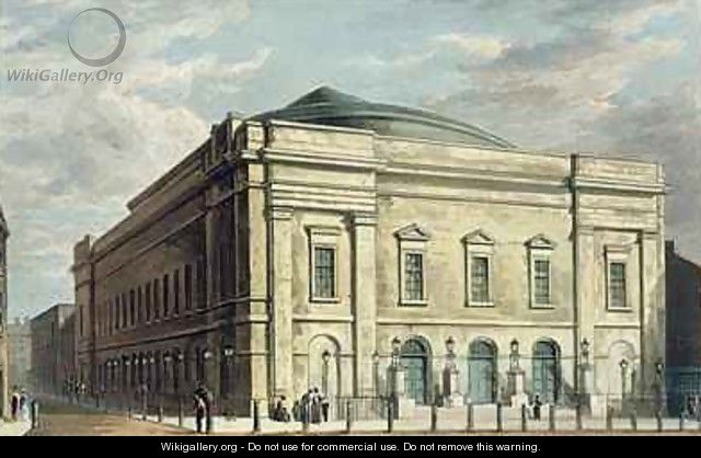 Theatre Royal Drury Lane in London - Daniel Havell