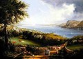 View of the Hudson River from near Sing Sing New York - Robert Havell, Jr.