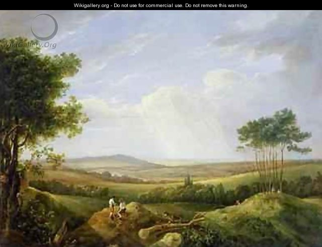 Landscape with Figures - Captain Thomas Hastings