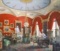 Interior of the Winter Palace - Eduard Hau